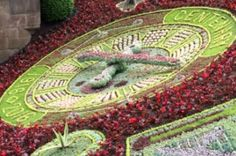 Floral clock in Edinburgh celebrates Scottish architects - from Horticulture Week Floral Clock, Scotland History, Edinburgh City, Place Names, In The Tree, Horticulture, Beautiful Gardens, Floral Arrangements, City Council