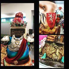 Game of Thrones Cake! Puerto Rico Sugar Art Competicion!