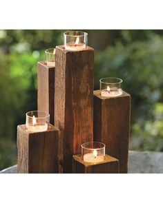 Great way to recycle railroad ties