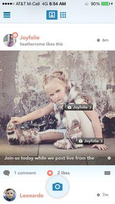 Joyfolie on Lil'Stylers app