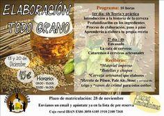 Pa' Las Birras: Curso de elaboración de cerveza todo grano