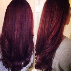 I love this color of hair and the waves put together! May have to try it!