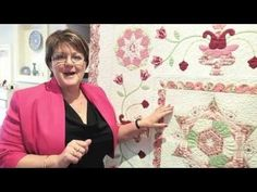 Ep 3 Sue Daley's Shape Up English Paper Piecing School - Using Equilateral Triangle & Fussy Cutting - YouTube