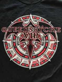 Queensryche T Shirt VIP Experience Survivor Black Cotton TEE shirt Size Large #Gildan #GraphicTee