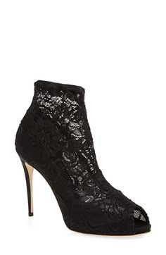 Obsessed with lace booties