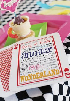 Whimsical Alice in W