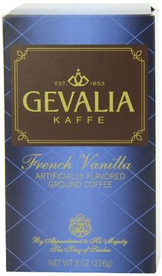Gevalia French Vanilla Ground Coffee, 8-Ounce Packages (Pack of 3) - http://teacoffeestore.com/gevalia-french-vanilla-ground-coffee-8-ounce-packages-pack-of-3/