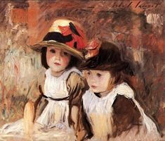 John Singer Sargent Village Children