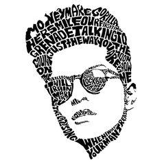Bruno Mars Sketch Art