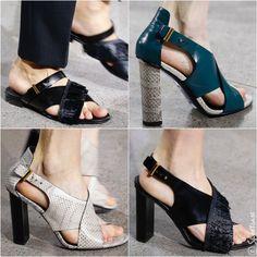 Jason Wu Spring 2016 Shoes