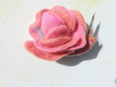 Unique Roses, Pink Gifts, Ready To Go, Xmas Gifts, Needle Felting, Pink Roses, Hair Pins, Wax, Peach