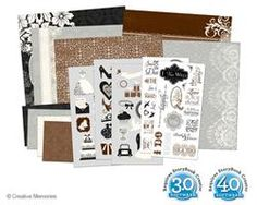 Divine Wedding Kit  the perfect wedding themed kit to match the new Divine PP  #scrapbooking