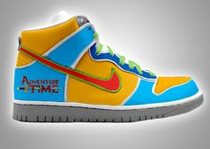 Adventure Time Nike Dunks #Nike#AdventureTime#NikeDunks