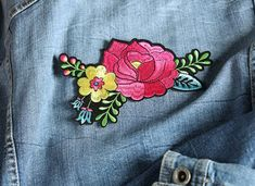 Creations - Artemio Jeans, Creations, Brooch, Couture, Accessories, Fashion, Jean Vest, Embroidery, Moda