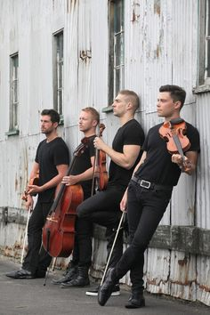 "The four boys of ""Well-Strung: The Singing String Quartet"", an all-gay male musical group."