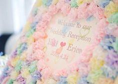 100均素材で簡単手作り♡可愛すぎるペーパーフラワーで結婚式を飾りつけ♩