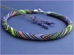 Socially Conveyed via WeLikedThis.co.uk - The UK's Finest Products -   bead crochet necklace http://welikedthis.co.uk/?p=5005