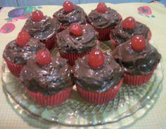 cupcakes deliciosos no meu blog wwweunacozinha.blogspot.com
