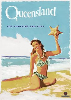 Australia vintage travel - Queensland
