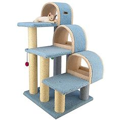 Classic Cat Tree B3803 ** More info could be found at the image url. (This is an affiliate link) #CatActivityTrees