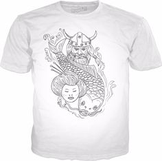 Check out my new product https://www.rageon.com/products/viking-carp-geisha-head-black-and-white-drawing on RageOn!