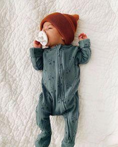 Theshy Newborn Baby Boys Girls Solid Rabbit Ear Zipper Romper Jumpsuit Bodysuit Clothes Childern Clothes Kids Gift