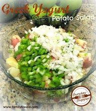 Greek Yogurt Potato Salad ~ No Mayo - turned out delicious!