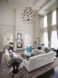 Burlington Interior Design Project: Contemporary Classicism   Regina Sturrock Design Inc