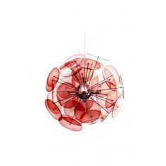 Amari Pendant Lamp in Red