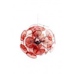 Amari Pendant Lamp in Red