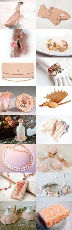 Peachy by Andrea Dawn on Etsy--Pinned+with+TreasuryPin.com