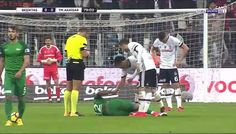 Paulo Henrique Gets Red Card For Punching Gary Medel vs Besiktas!
