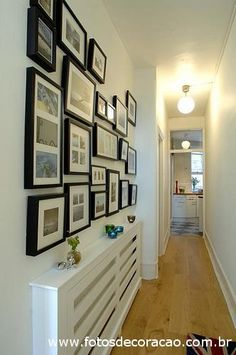 Corridor, hall decoration.