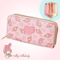 My Melody Double Wallet Dual Compartment Rose Pink SANRIO JAPAN