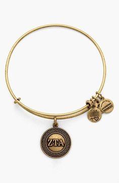 Personalized Photo Charms Compatible with Pandora Bracelets. Alex and Ani 'Collegiate - Zeta Tau Alpha' Expandable Charm Bangle
