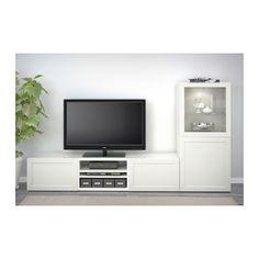 BESTÅ TV unit, white white 70 7/8x15 3/4x15