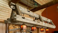 rustic lighting   Chandeliers   Rustic Furniture Mall by Timber Creek