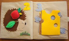 Might be too young for the neph. book for children made from felt.