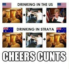 Drinking in Straya