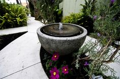 Simple Fountain, Garden Fountain  Modern Landscaping  Landscaping Network  Calimesa, CA