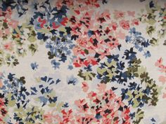 Dressmaking Fabric, Pretty Patterns, Quilts, Blanket, Sewing, Floral, Inspiration, Home Decor, Fabrics