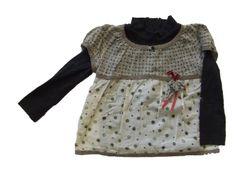 Ref. 900393- Camiseta ML - Confetti- niña - Talla 3 años - 6€ - falda a juego 200079 - info@miihi.com - Tel. 651121480