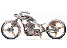 PJD: American Chopper Live bike- when I watched this I thought this was one of the coolest bikes!!