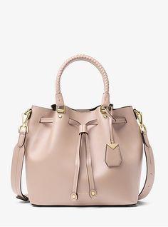 a0baa5286 Blakely Leather Bucket Bag Michael Kors Satchel, Handbags Michael Kors, Michael  Kors Sale,