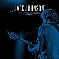 "Jack Johnson - Live At Third Man Records on 12"" Vinyl"