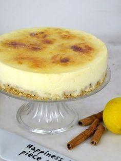 Köstliche Desserts, Healthy Desserts, Delicious Desserts, Sweet Recipes, Cake Recipes, Dessert Recipes, Crema Recipe, Spanish Dishes, No Bake Cake