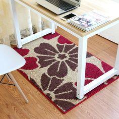 Zeegle Modern Hallway Rugs Entrance Mat Non-slip Floor Carpet For Living Room Absorbent Kitchen Rug Study Floor Mats Bedside Rug