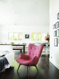 time for a pink chair??