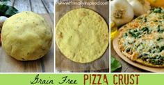Grain Free Pizza Crust (Paleo)   Primally Inspired, not egg-free, but I'll try subbing