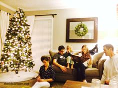 Great tips for Calming the Christmas Holiday Chaos and Enjoying the Season by Heather Johnson | theidearoom.net